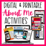 DIGITAL BACK TO SCHOOL ACTIVITIES- SOCIAL MEDIA STYLE