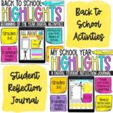 Digital Back to School Bundle   Social Emotional Learning Bundle