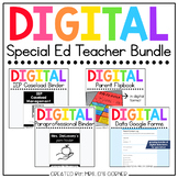 Digital Back to School Bundle for Special Education Teachers