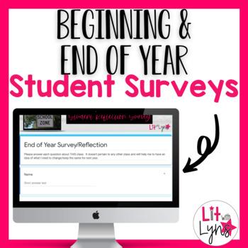Digital Back to School & End of Year Student Surveys
