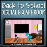 Digital Back to School Escape Room - Tutorial & Template -