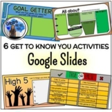 Digital Back to School/Get to Know You Activity - Google Slides