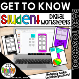 Digital Back to School (Get to Know You for Music) for Distance Learning