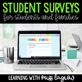 Digital Back to School Student Information Surveys