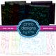 Digital Background Bubble Lights - Dark and Light - Print Designs by Kris