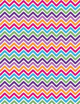 Digital Background clip art - Scrapbook Pack - Chevron 8
