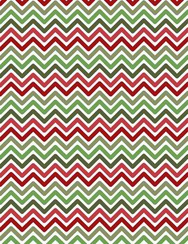 Digital Background clip art - Scrapbook Pack - Christmas