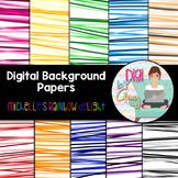 Digital Paper Background Clip Art Michelle's Rainbow Delight