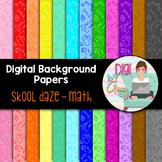 Digital Paper Background Clip Art Math