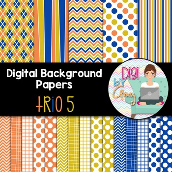 Digital Paper Background Clip Art