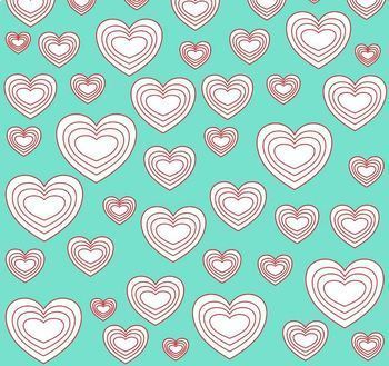 Digital Papers Set Sweet Hearts 3