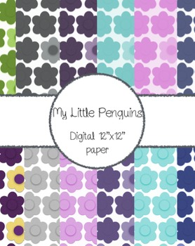 "Digital Background papers (12""x12"")"