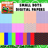 Polka Dot Digital Papers (small)