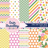 Digital Backgrounds - Spring Digital Paper Pack