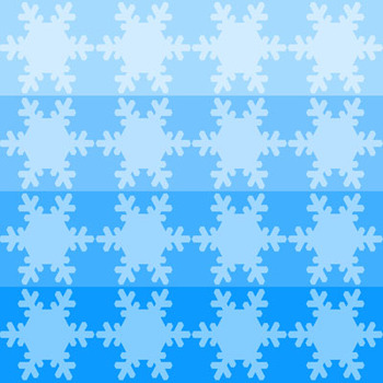 Digital Backgrounds and Papers:  The Ultimate Snowflake Pack