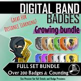 Digital Band Badges - FULL SET GROWING BUNDLE