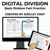 Digital: Basic Division Fact Practice | Distance Learning