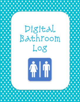 Digital Bathroom Log