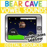 Digital Bear Cave Long & Short Vowels - BOOM CARDS   GOOGL