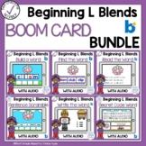 Boom Cards Beginning L Blends Bundle