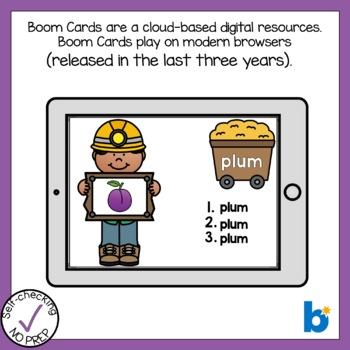 Digital Beginning L Blends Write the Word Boom Cards