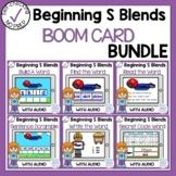 Boom Cards Beginning S Blends Bundle