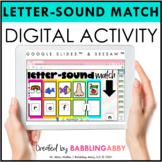 Digital Beginning Sound Picture Match Google Slides™ Seesaw™ Distance Learning