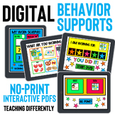 Digital Behavior Supports for Distance Learning Growing Bundle