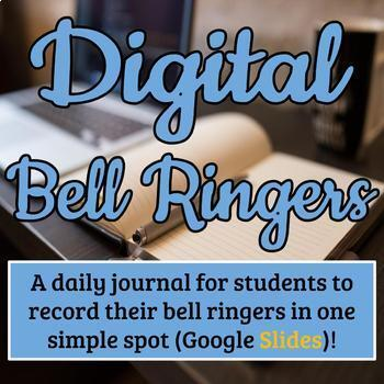 {90} Digital Writing Prompts - Editable in Google Slides - CCSS Aligned