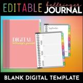 Digital Bellringer Journal: Blank Template