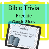 Digital Bible Trivia on Google Slides FREEBIE