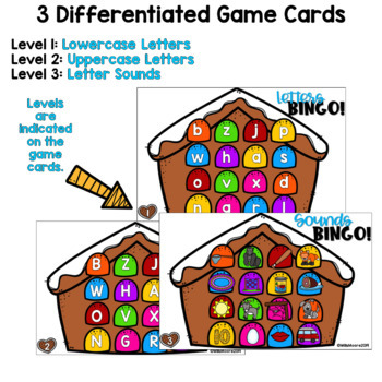 Digital Bingo Letters & Sounds | December
