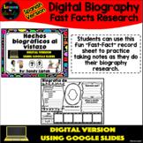 Digital Biography Fast Facts (Spanish Version) - Google Di