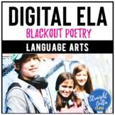 Digital Blackout Poetry Activity   Google Classroom   Dist