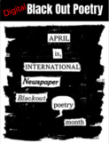 Digital Blackout Poetry (Google Slideshow)