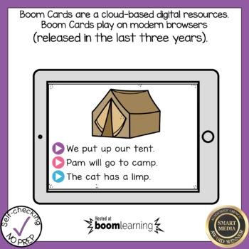 Digital Blends Read the Word Boom Cards