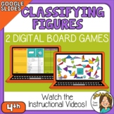 Digital Board Games Google Slides Classifying Triangles an