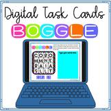 Digital Boggle Task Cards ~ Word Work ~ Enrichment Challenge