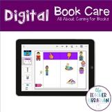 Digital Google Slides Book Care Activity