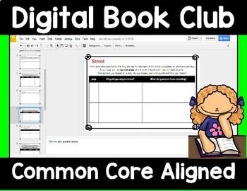 Digital Book Club Response Forms