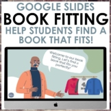 Digital Book Fitting Template: A Book Tasting with a Cloth