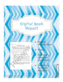 Digital Book Report