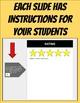 Digital Book Report (Editable in Google Slides)