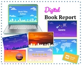 Digital Book Report: Google Slides Template