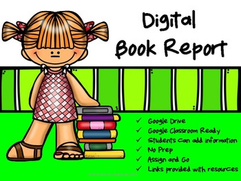 Digital Book Report for Google Drive