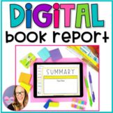 Digital Book Report using Google Slides - Distance Learning