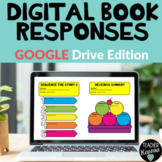 Digital Book Responses Distance Learning Google Drive
