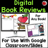 Digital Book Reviews for use with Google Slides/Classroom