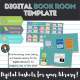 Digital Book Room Template