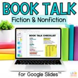 Digital Book Talk Project for Google Slides - Distance Learning